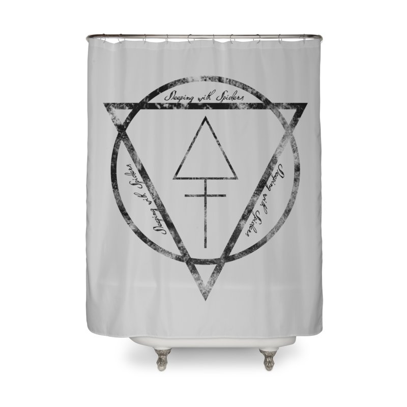 Sleeping with Spiders - Alchemy (black) Home Shower Curtain by LydiaJae's Artist Shop