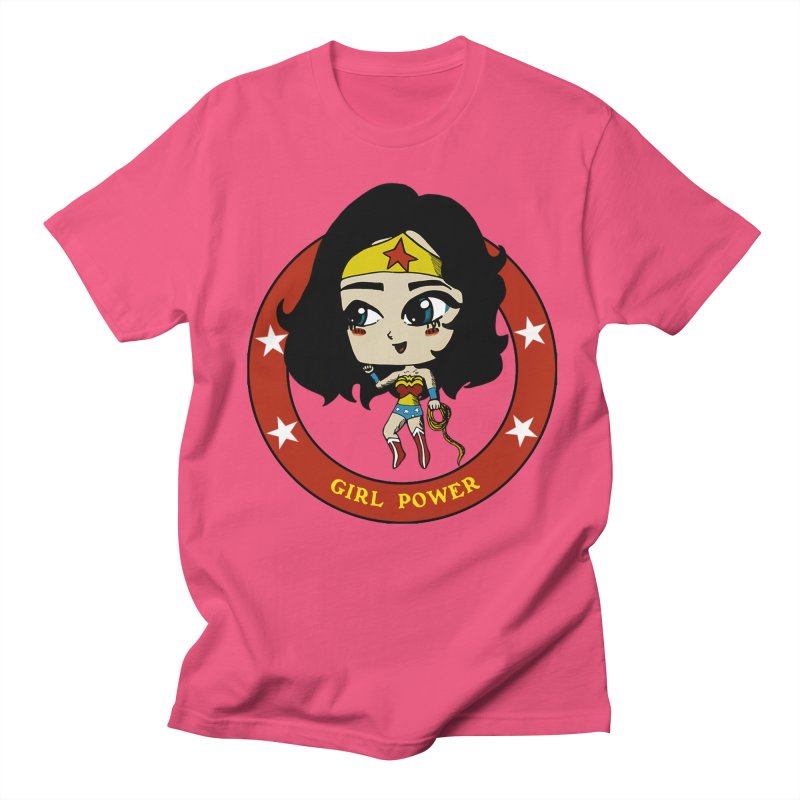 Girl Power! (Diana) Women's Regular Unisex T-Shirt by LydiaJae's Artist Shop