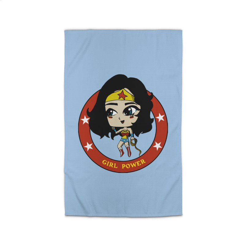 Girl Power! (Diana) Home Rug by LydiaJae's Artist Shop