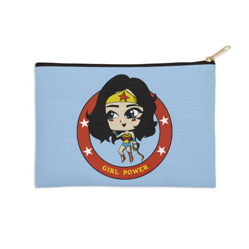 Girl Power! (Diana) Accessories Zip Pouch by LydiaJae's Artist Shop