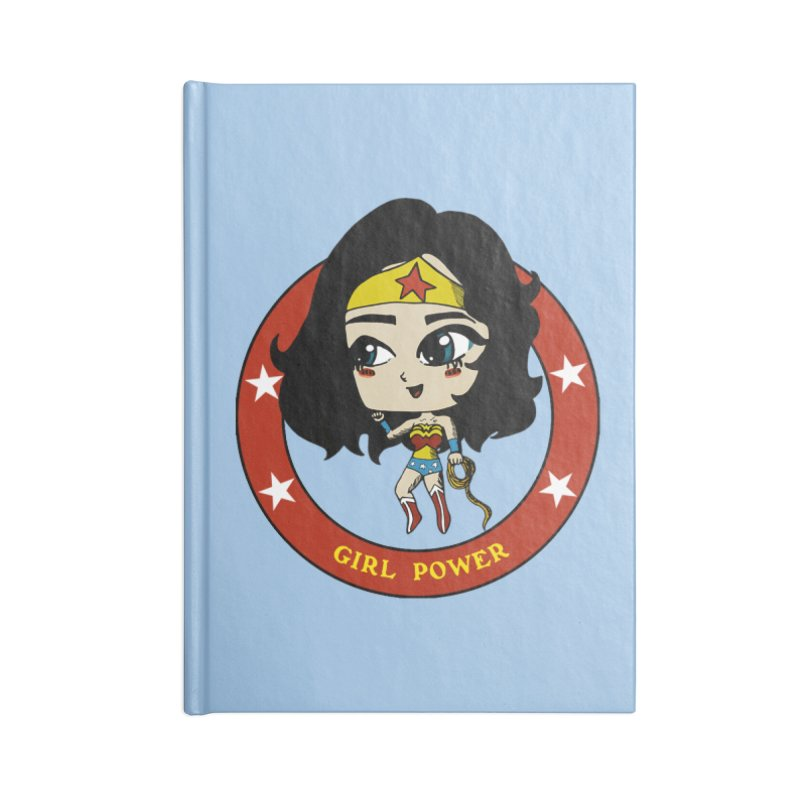 Girl Power! (Diana) Accessories Blank Journal Notebook by LydiaJae's Artist Shop