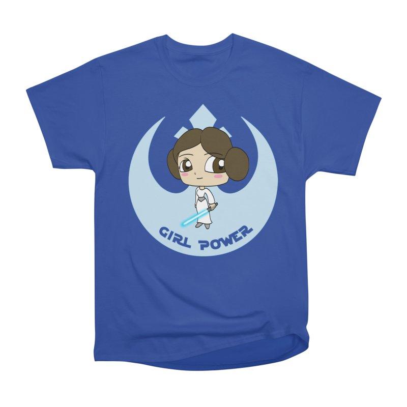 Girl Power! (Leia) Men's Heavyweight T-Shirt by LydiaJae's Artist Shop