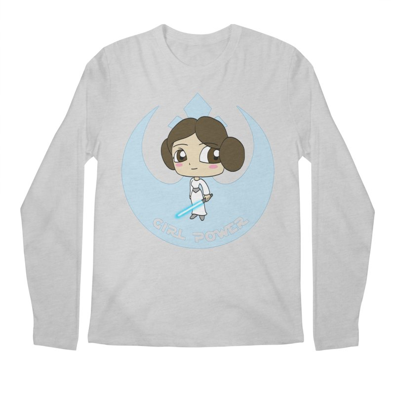 Girl Power! (Leia) Men's Regular Longsleeve T-Shirt by LydiaJae's Artist Shop