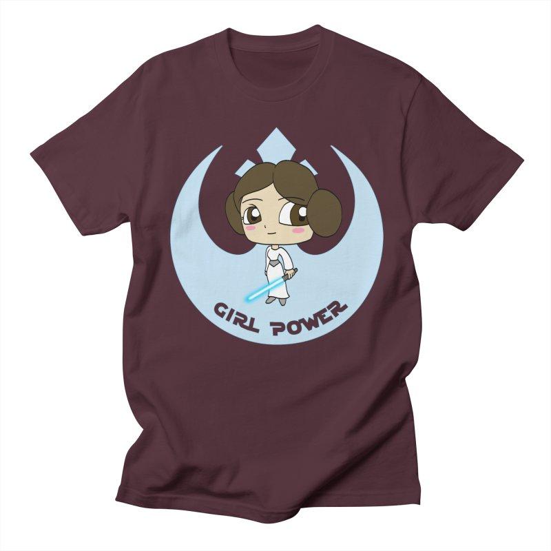 Girl Power! (Leia) Men's Regular T-Shirt by LydiaJae's Artist Shop
