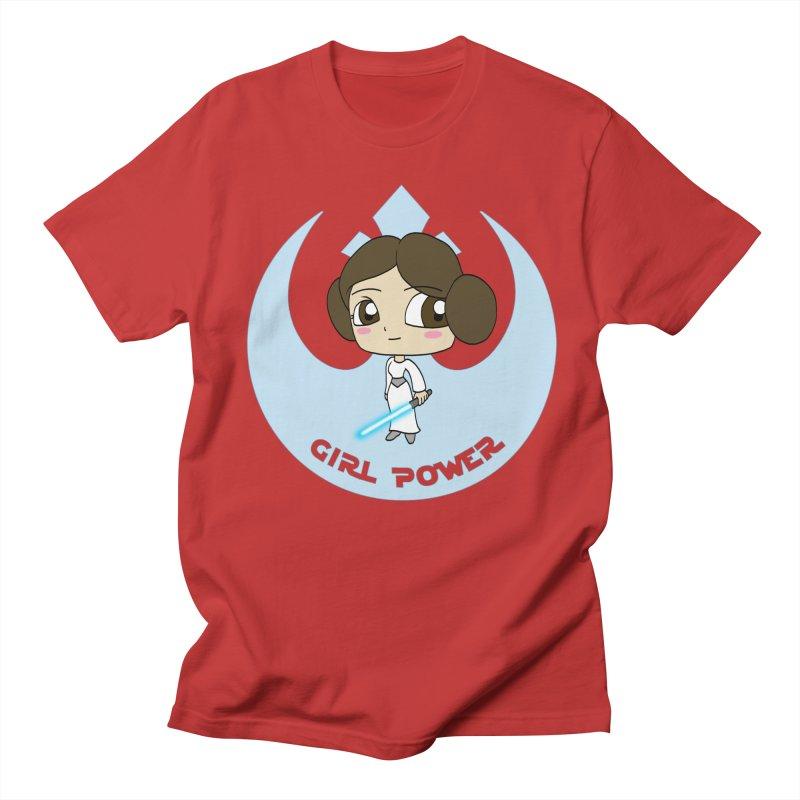 Girl Power! (Leia) Women's Regular Unisex T-Shirt by LydiaJae's Artist Shop