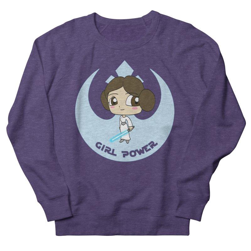 Girl Power! (Leia) Women's French Terry Sweatshirt by LydiaJae's Artist Shop