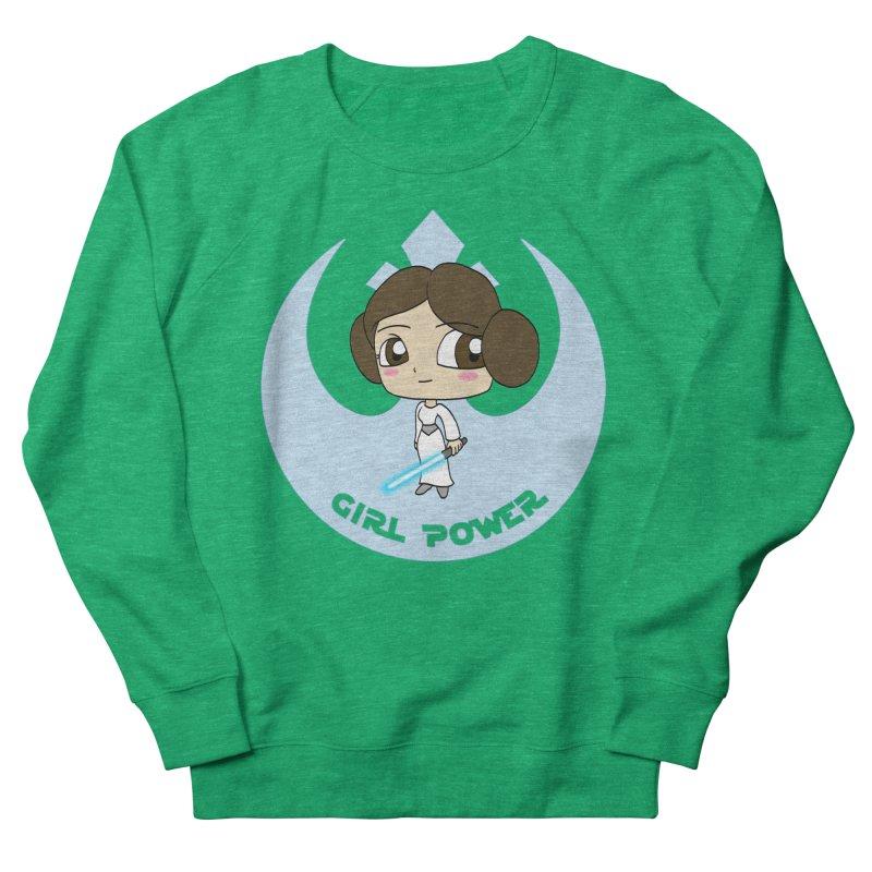 Girl Power! (Leia) Men's French Terry Sweatshirt by LydiaJae's Artist Shop