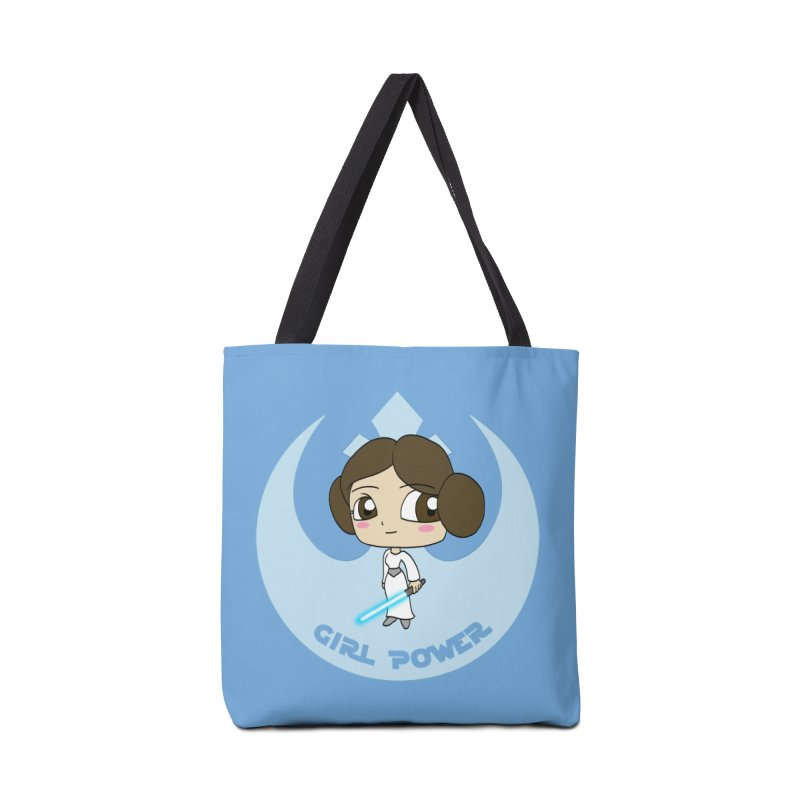 Girl Power! (Leia) Accessories Tote Bag Bag by LydiaJae's Artist Shop