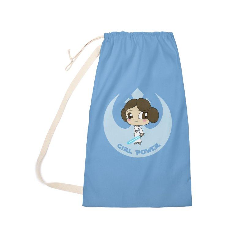 Girl Power! (Leia) Accessories Bag by LydiaJae's Artist Shop