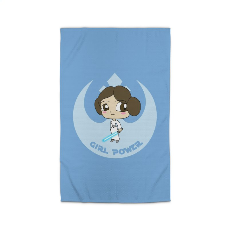 Girl Power! (Leia) Home Rug by LydiaJae's Artist Shop