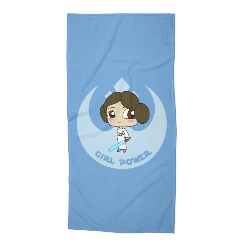 Girl Power! (Leia) Accessories Beach Towel by LydiaJae's Artist Shop