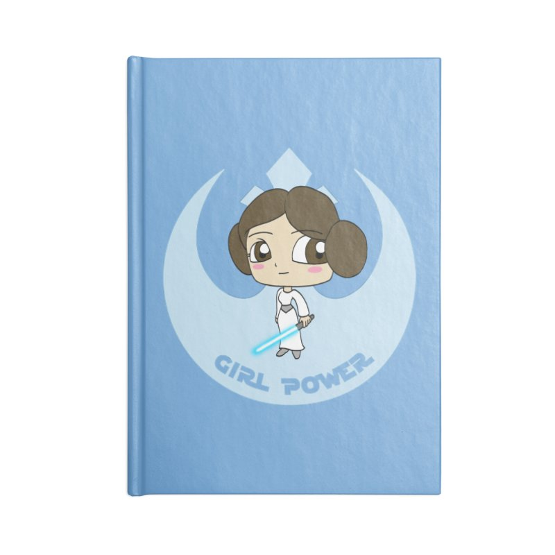 Girl Power! (Leia) Accessories Blank Journal Notebook by LydiaJae's Artist Shop