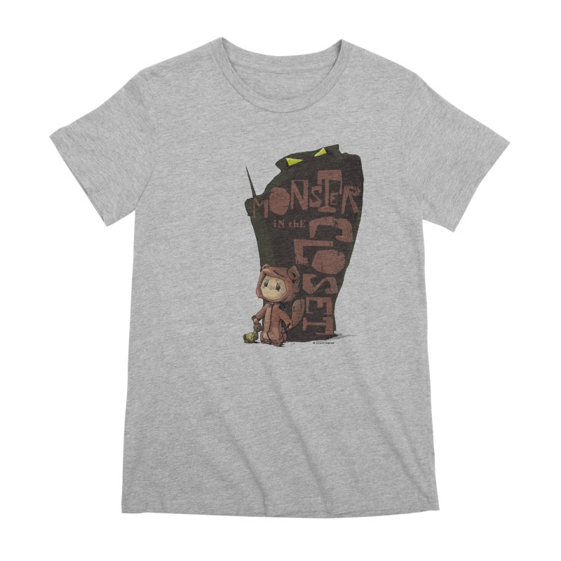 Monster in the Closet Women's Premium T-Shirt by Lynell Ingram's Shop