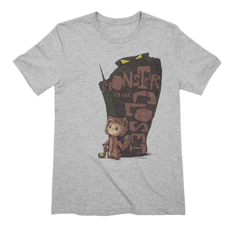 Monster in the Closet Men's Extra Soft T-Shirt by Lynell Ingram's Shop