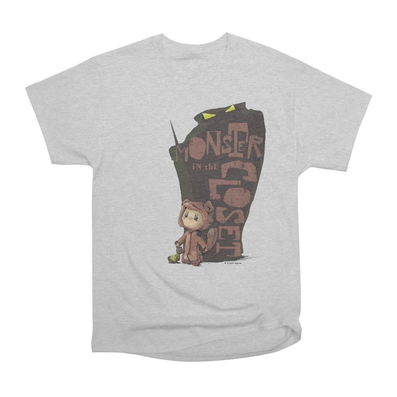 Monster in the Closet Men's Heavyweight T-Shirt by Lynell Ingram's Shop