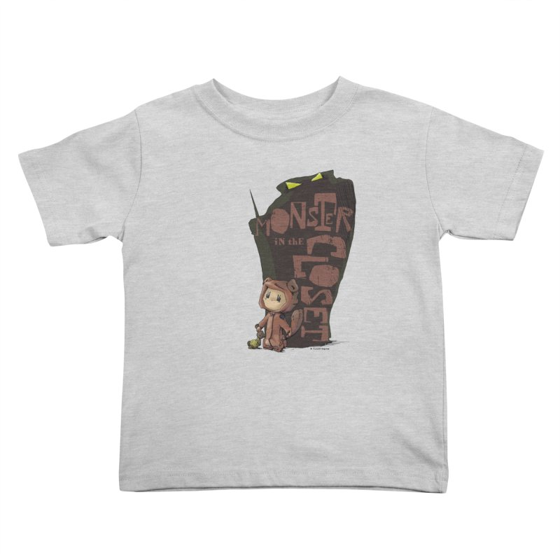 Monster in the Closet Kids Toddler T-Shirt by Lynell Ingram's Shop