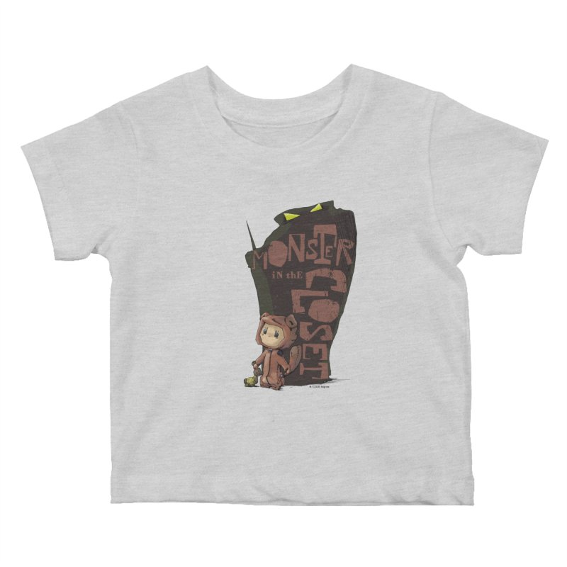 Monster in the Closet Kids Baby T-Shirt by Lynell Ingram's Shop