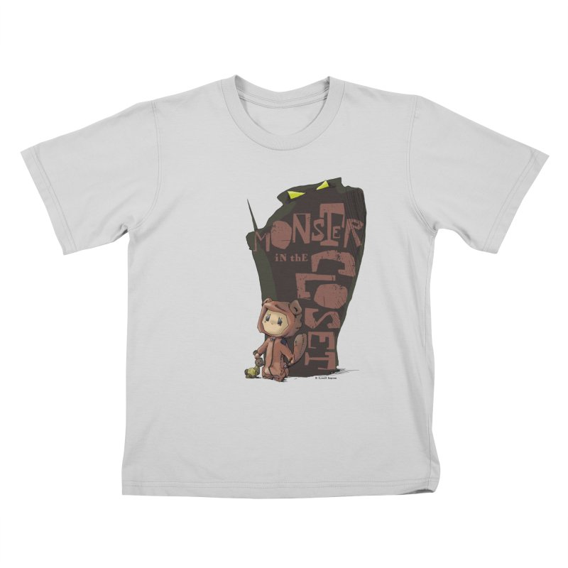 Monster in the Closet Kids T-Shirt by Lynell Ingram's Shop
