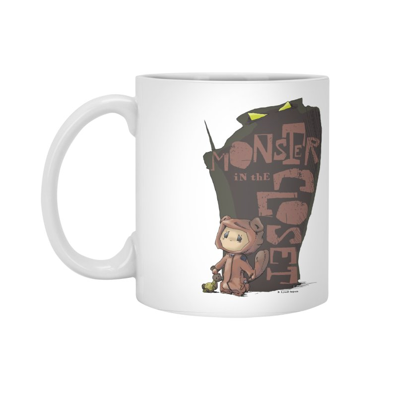Monster in the Closet Accessories Standard Mug by Lynell Ingram's Shop