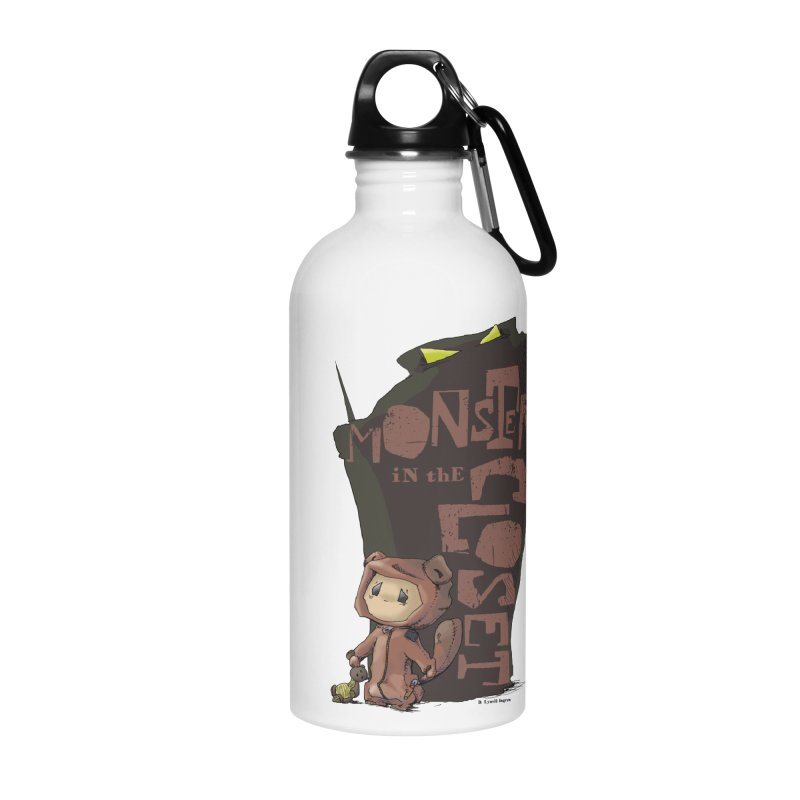 Monster in the Closet Accessories Water Bottle by Lynell Ingram's Shop