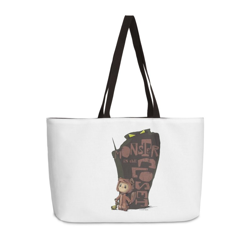 Monster in the Closet Accessories Weekender Bag Bag by Lynell Ingram's Shop