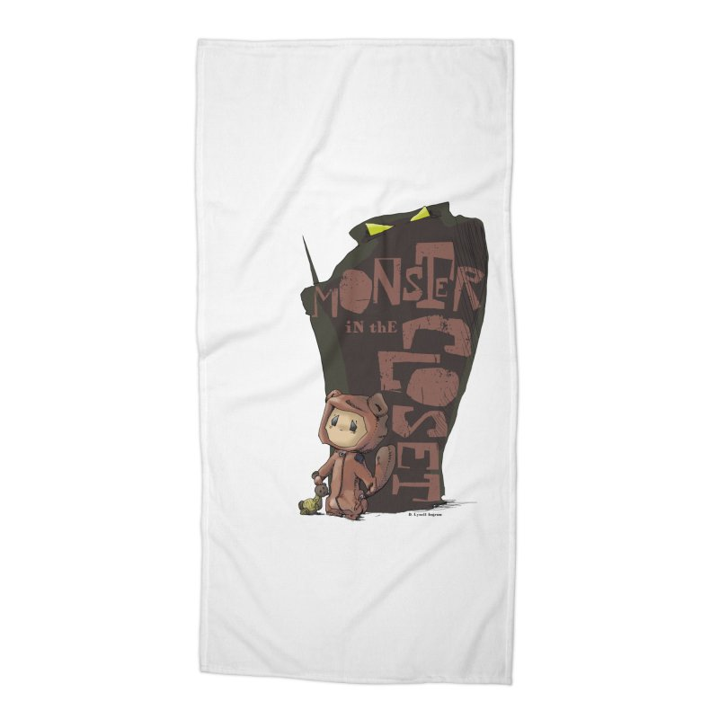 Monster in the Closet Accessories Beach Towel by Lynell Ingram's Shop
