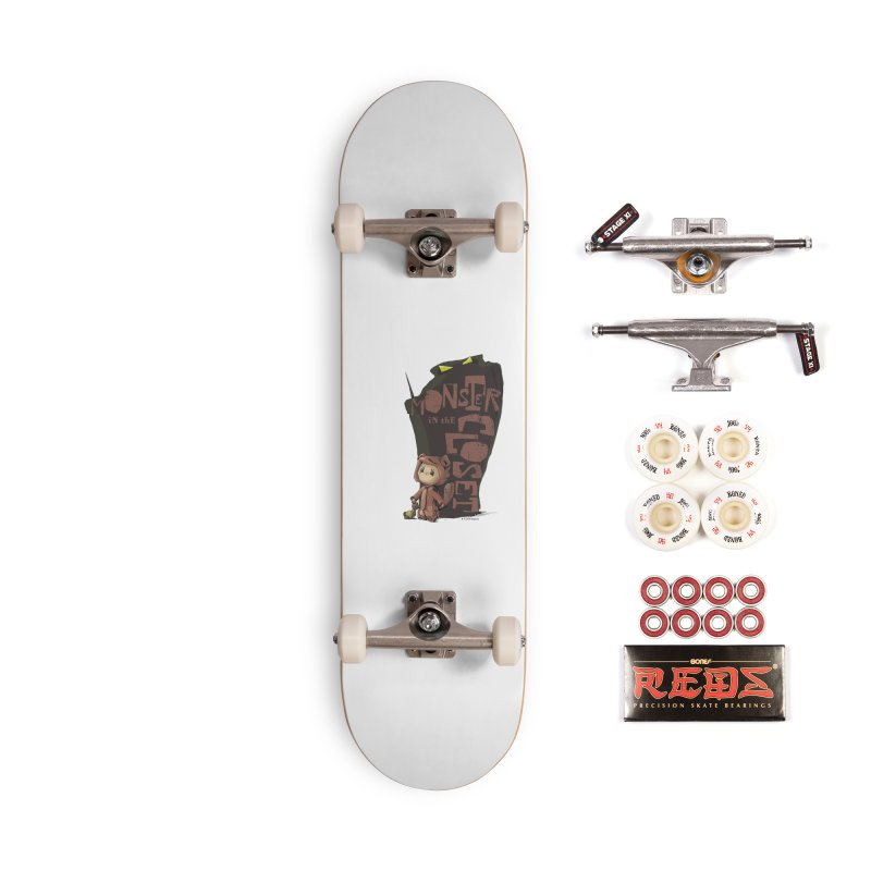 Monster in the Closet Accessories Complete - Pro Skateboard by Lynell Ingram's Shop