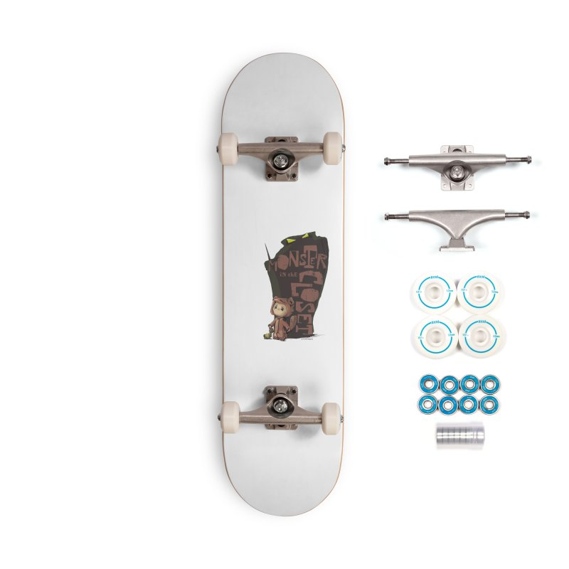 Monster in the Closet Accessories Complete - Basic Skateboard by Lynell Ingram's Shop