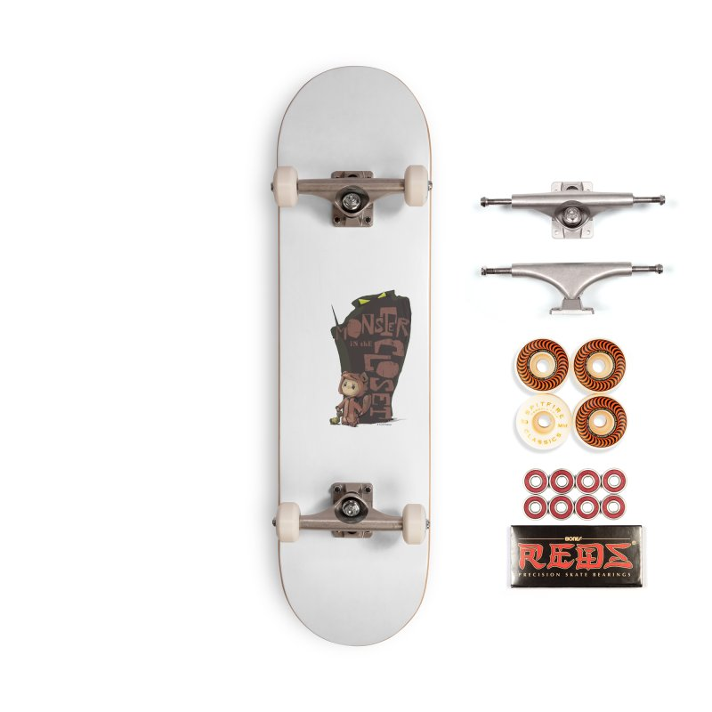 Monster in the Closet Accessories Skateboard by Lynell Ingram's Shop