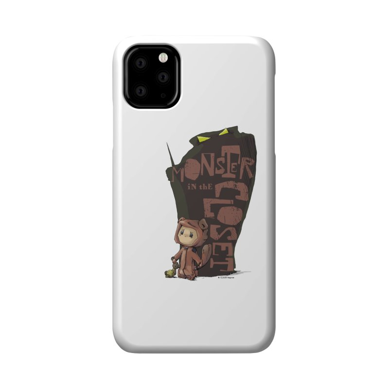 Monster in the Closet Accessories Phone Case by Lynell Ingram's Shop
