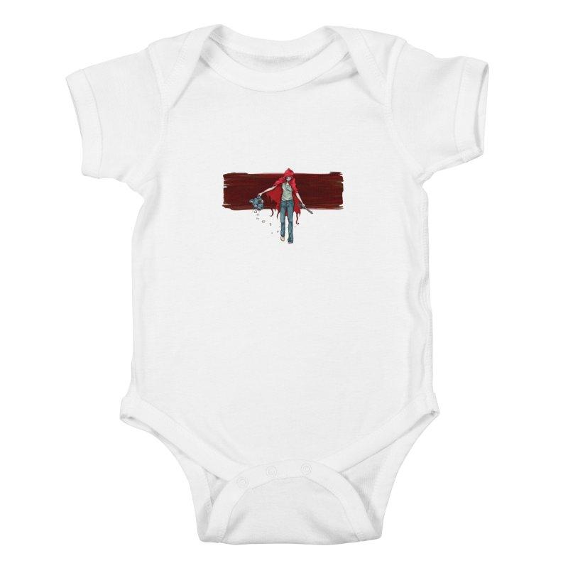 Reds' Revenge Kids Baby Bodysuit by Lynell Ingram's Shop