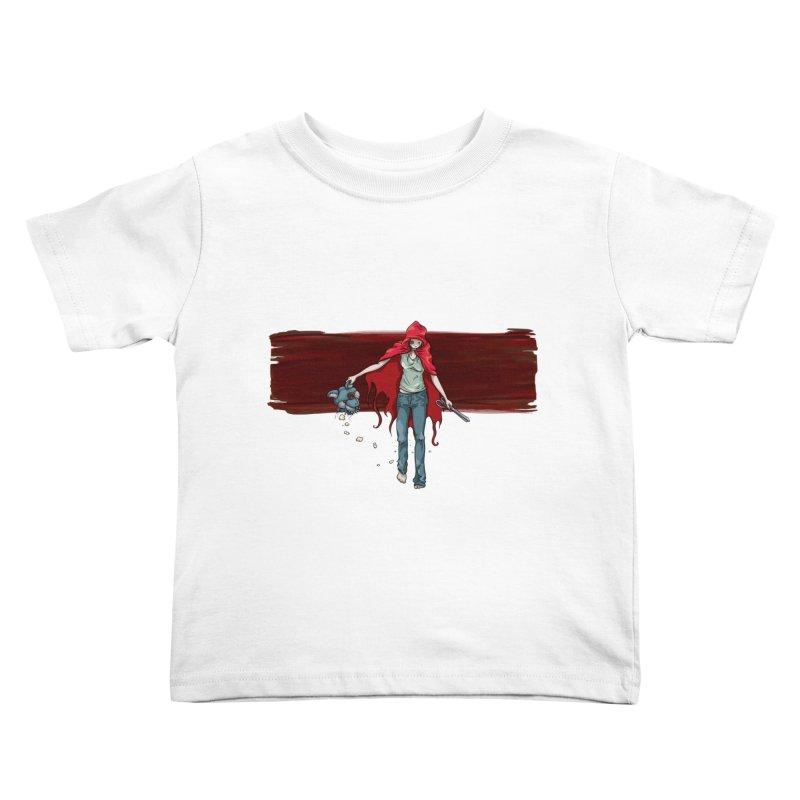 Reds' Revenge Kids Toddler T-Shirt by Lynell Ingram's Shop