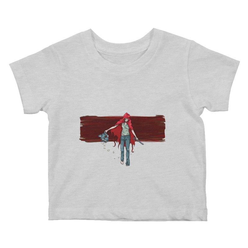 Reds' Revenge Kids Baby T-Shirt by Lynell Ingram's Shop