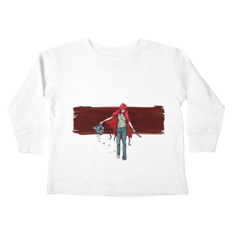 Reds' Revenge Kids Toddler Longsleeve T-Shirt by Lynell Ingram's Shop