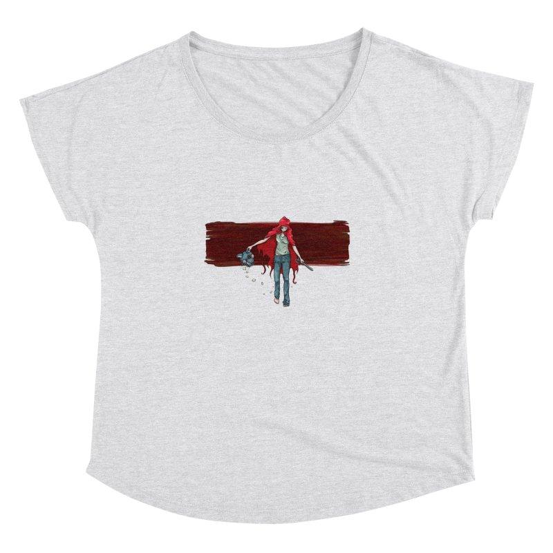 Reds' Revenge Women's Dolman Scoop Neck by Lynell Ingram's Shop