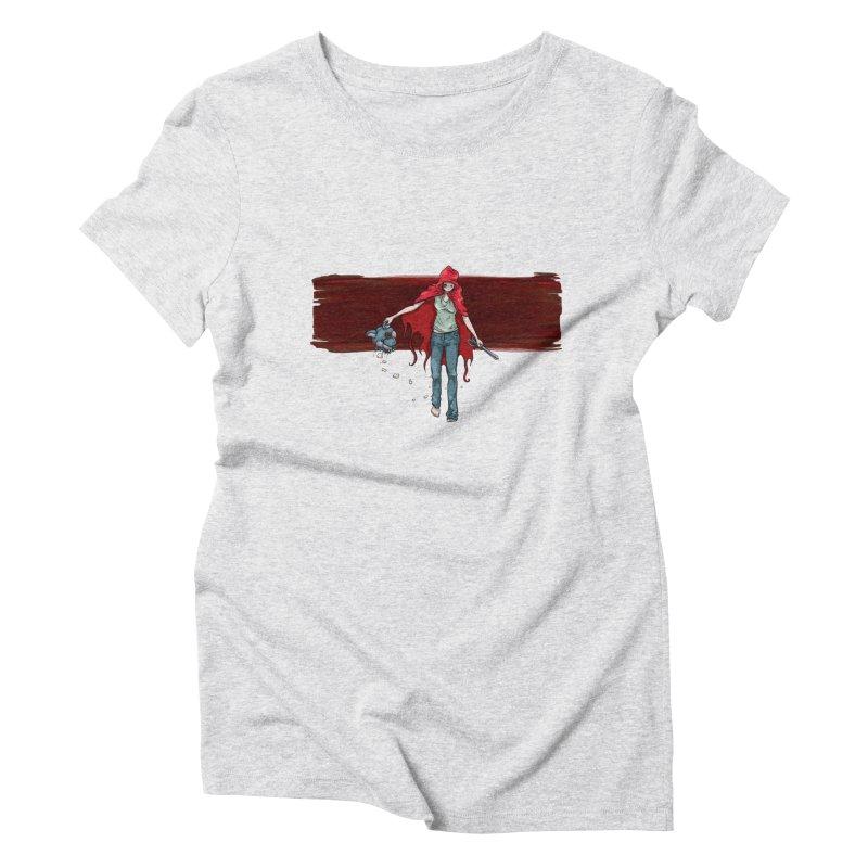 Reds' Revenge Women's Triblend T-Shirt by Lynell Ingram's Shop