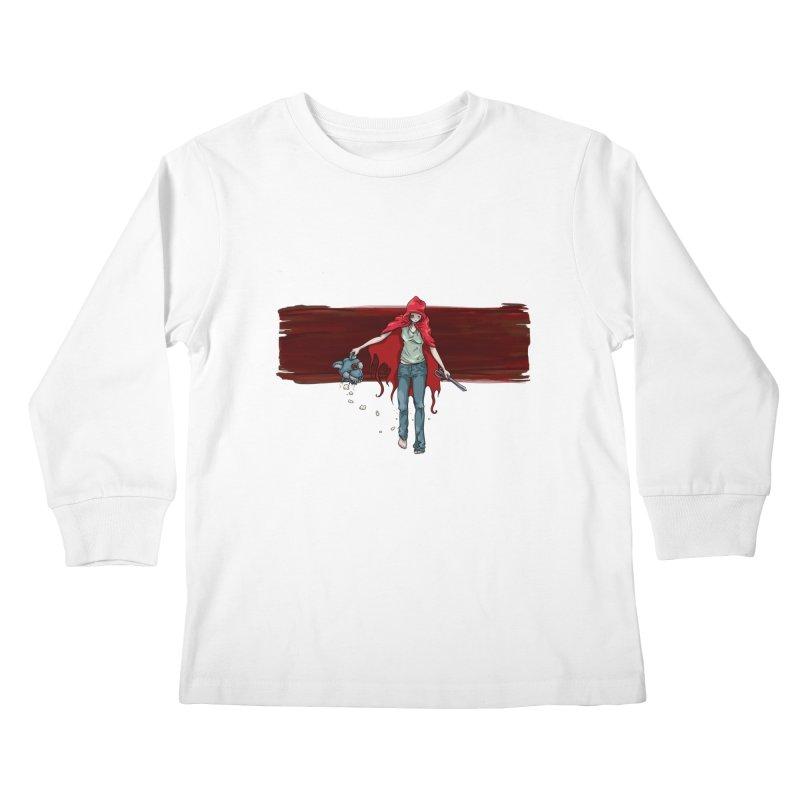 Reds' Revenge Kids Longsleeve T-Shirt by Lynell Ingram's Shop