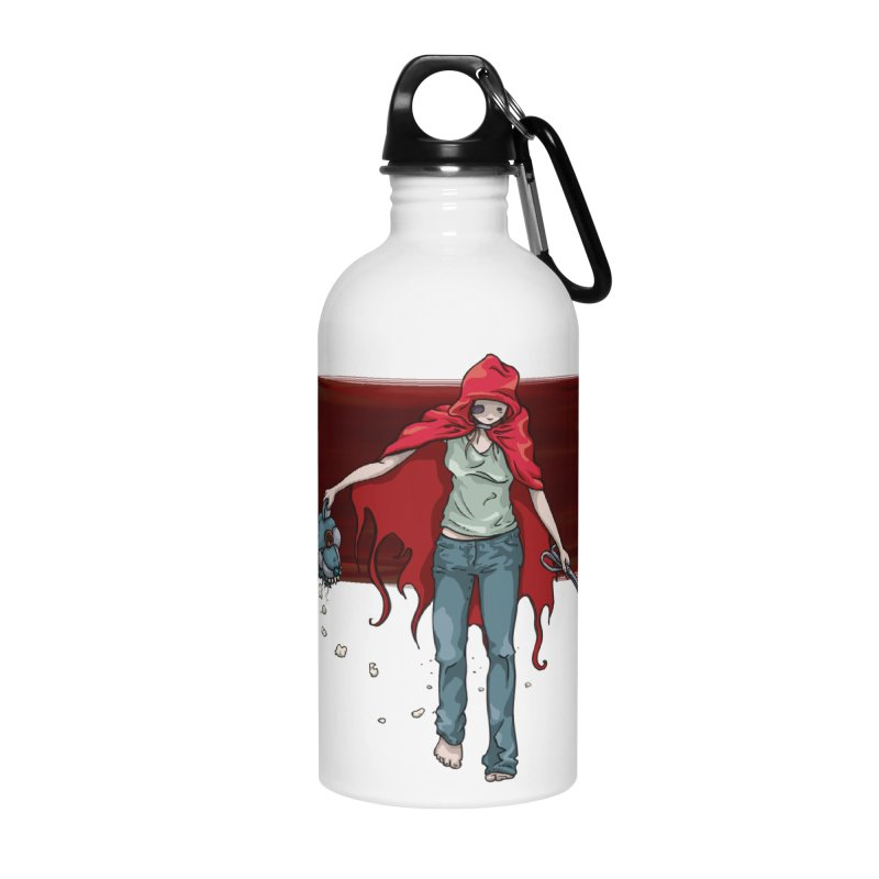 Reds' Revenge Accessories Water Bottle by Lynell Ingram's Shop