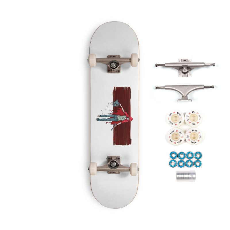 Reds' Revenge Accessories Complete - Premium Skateboard by Lynell Ingram's Shop