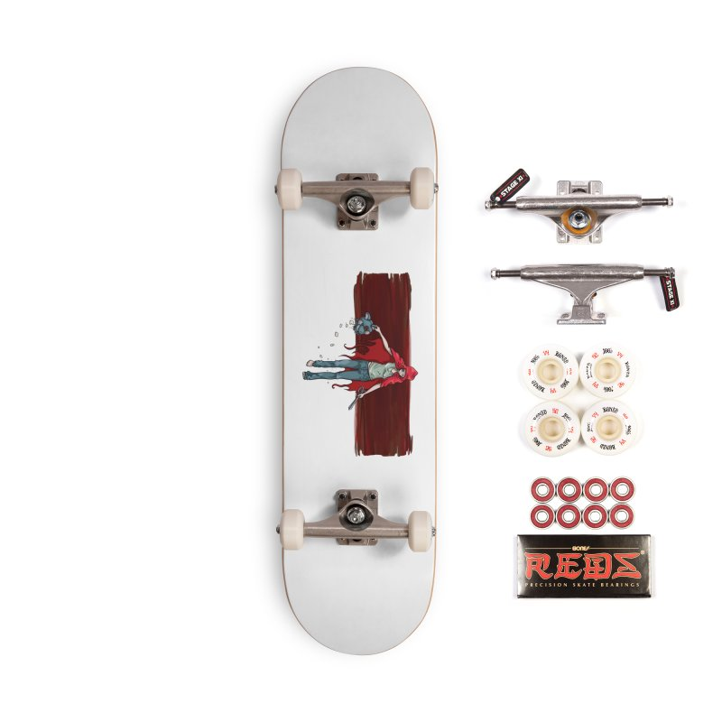 Reds' Revenge Accessories Complete - Pro Skateboard by Lynell Ingram's Shop