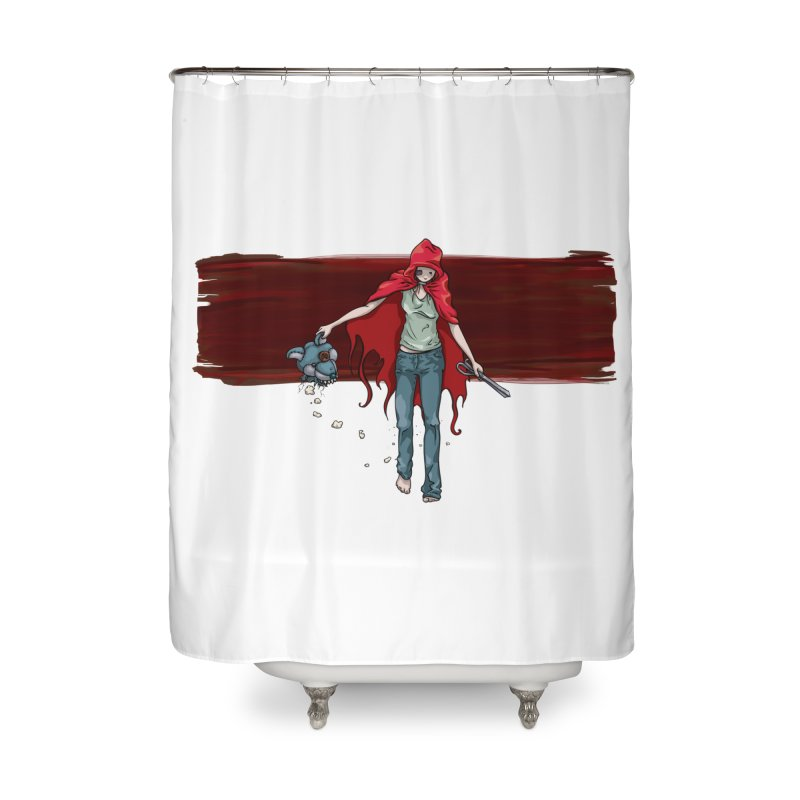 Reds' Revenge Home Shower Curtain by Lynell Ingram's Shop