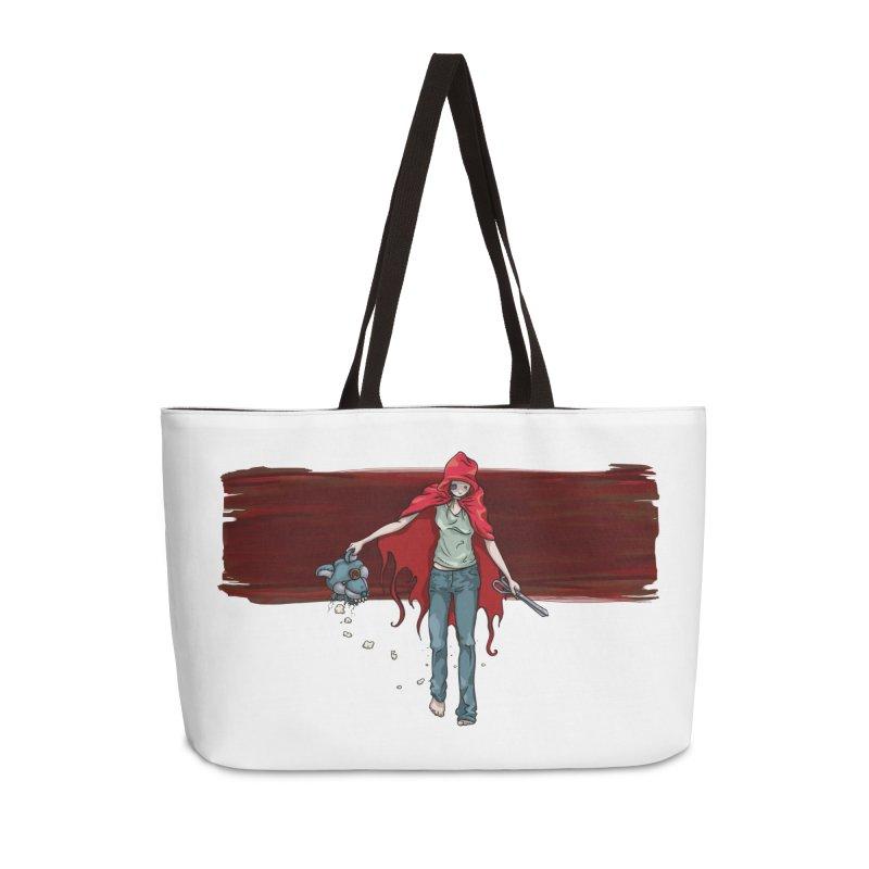 Reds' Revenge Accessories Weekender Bag Bag by Lynell Ingram's Shop