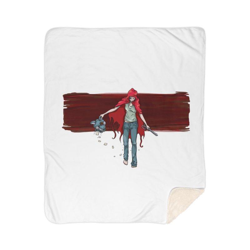 Reds' Revenge Home Sherpa Blanket Blanket by Lynell Ingram's Shop