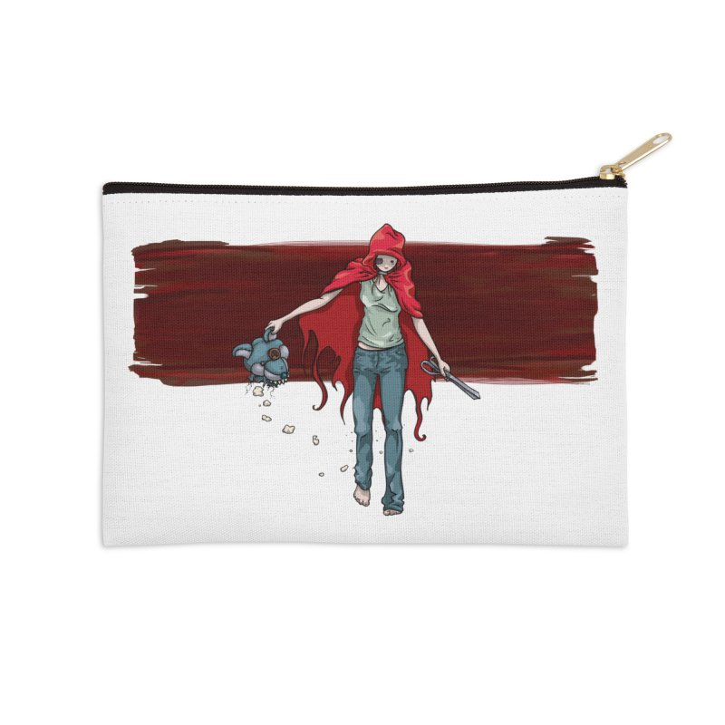 Reds' Revenge Accessories Zip Pouch by Lynell Ingram's Shop