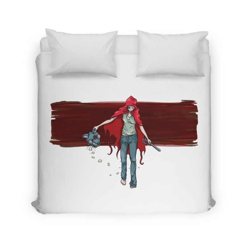 Reds' Revenge Home Duvet by Lynell Ingram's Shop