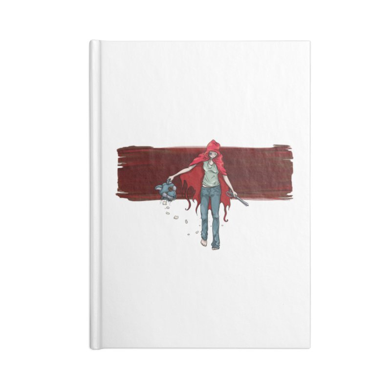 Reds' Revenge Accessories Lined Journal Notebook by Lynell Ingram's Shop