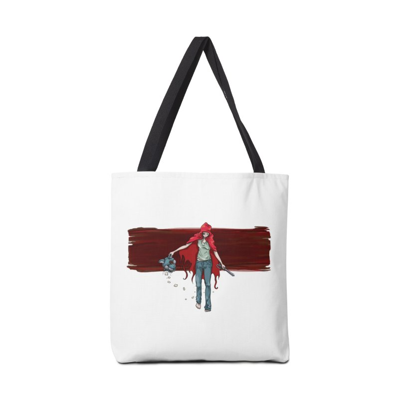 Reds' Revenge Accessories Tote Bag Bag by Lynell Ingram's Shop