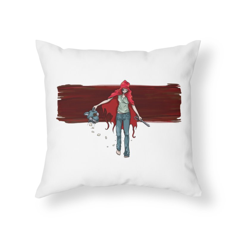 Reds' Revenge Home Throw Pillow by Lynell Ingram's Shop