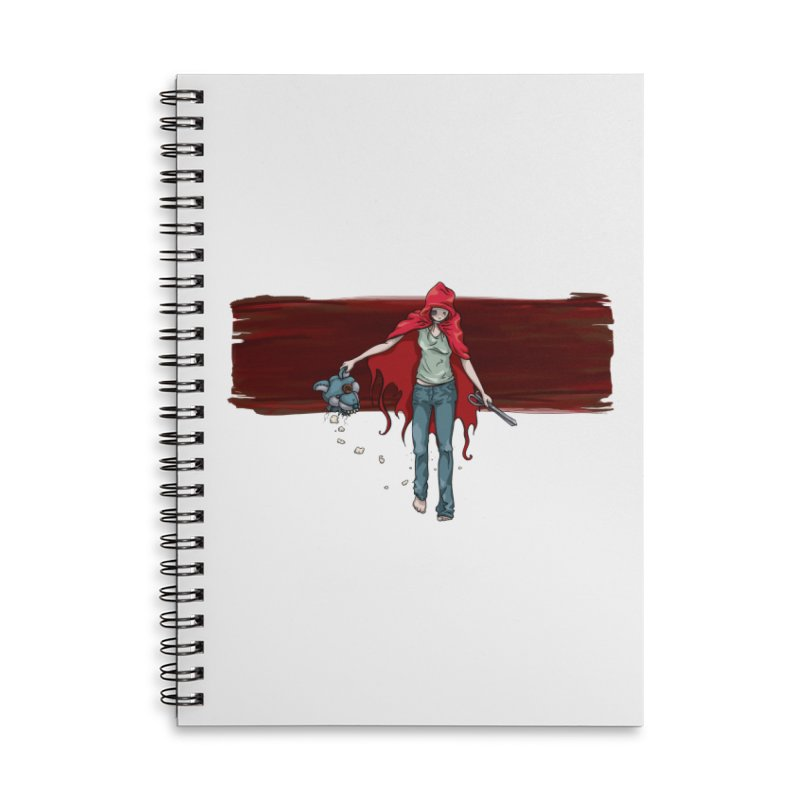 Reds' Revenge Accessories Lined Spiral Notebook by Lynell Ingram's Shop