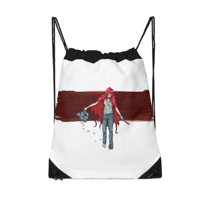 Reds' Revenge Accessories Drawstring Bag Bag by Lynell Ingram's Shop